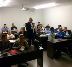 Curso Presencial do C.E São Paulo inciado em 19 de Outubro