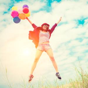 Um Único Salto Para A Felicidade